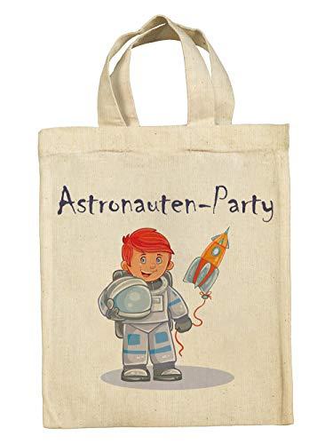 clothinx Divertidas bolsas de regalo para cumpleaños infantiles con diseño de dinosaurio, pirata, caballero, princesa, unicornio, sirena., astronauta, 5er Pack