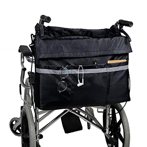 SZBLYY Bolsa Silla de Ruedas Bolsa de almacenamiento de silla de ruedas, bolsa de scooter de movilidad para transportar accesorios para sillas de transporte de sillas de ruedas, bolsa de asistencia mó