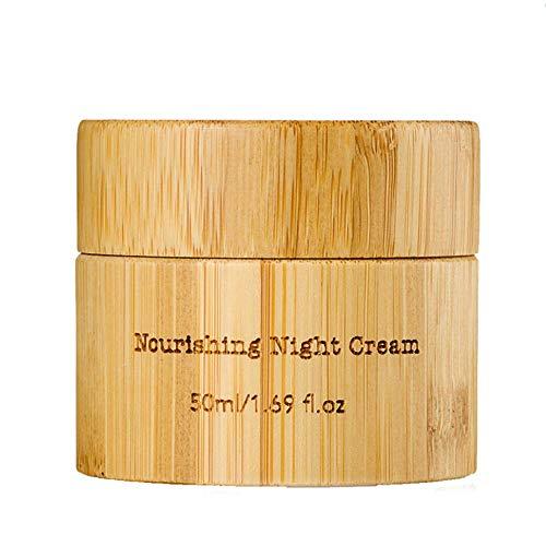 Crème de nuit nourrissante à l'huile de graine de chanvre organic hemp line