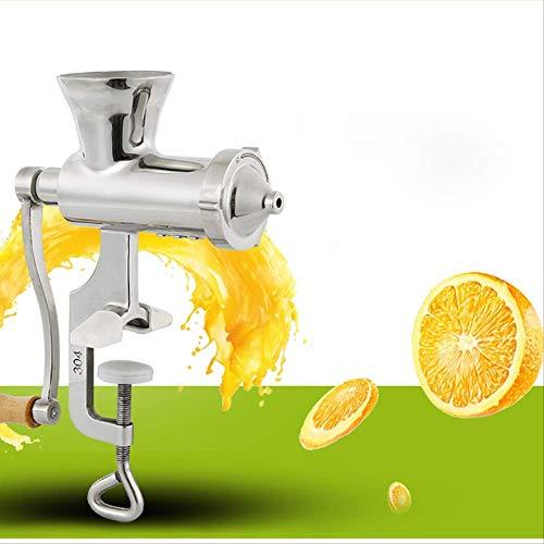 Gesunder manueller Weizengras-Entsafter, manueller langsamer Weizengras-Fruchtsaftpresse-Extraktor ist einfach zu bedienen1