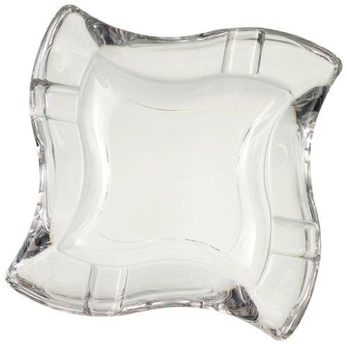 Villeroy & Boch NewWave Ascher, 16,9x16,9 cm, Kristallglas, Klar