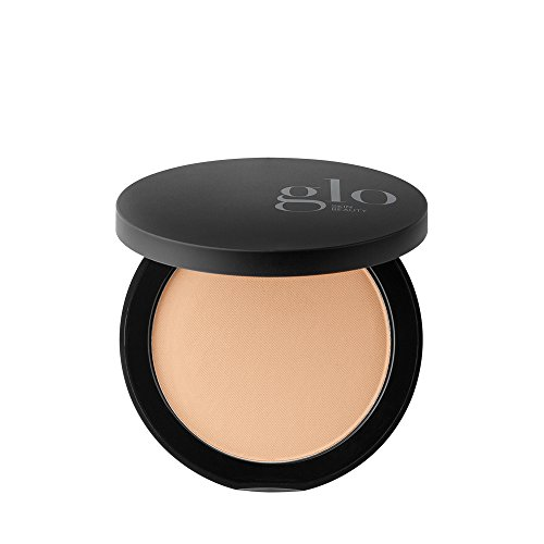 Glo Skin Beauty Pressed Base - Honey Fair | Mineral Pressed Powder Foundation | 24 Shades, Buildable Coverage, Matte Finish