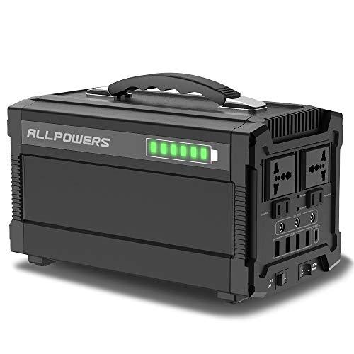 ALLPOWERS 288Wh 78000mAh Generador Inverter, Generador Portátil Solar Carga con AC...