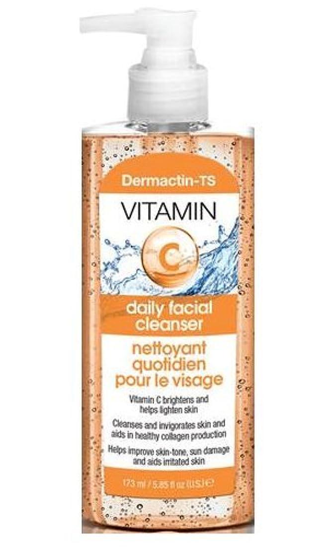 レキシコン窒素難しいDermactin-TS ビタミンCフェイシャルクレンザー165g (2パック) (並行輸入品)