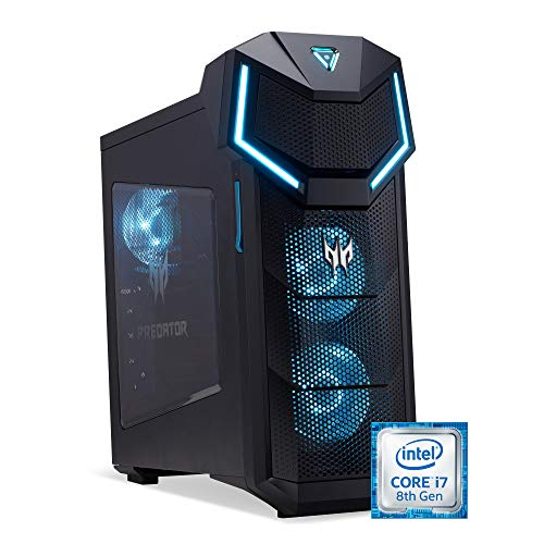 Predator Orion 5000 Gaming Desktop PC GeForce GTX 1060 256 GB SSD + 1 TB HDD zwart