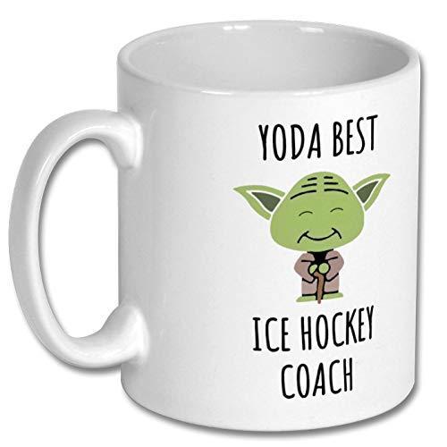 N\A Tasse-Ice Hockey Coach Tasse, Eishockey-Trainer, Eishockey-Trainer Geschenk, Eishockey-Trainer nene gaga Opa Baba Nanna