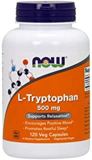 Now Foods L-Tryptophan 500 mg - 120 Vcaps ( Multi-Pack)