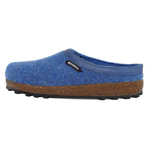 Giesswein Chamerau, Pantoffeln Unisex-Erwachsene, Blau, 43 EU