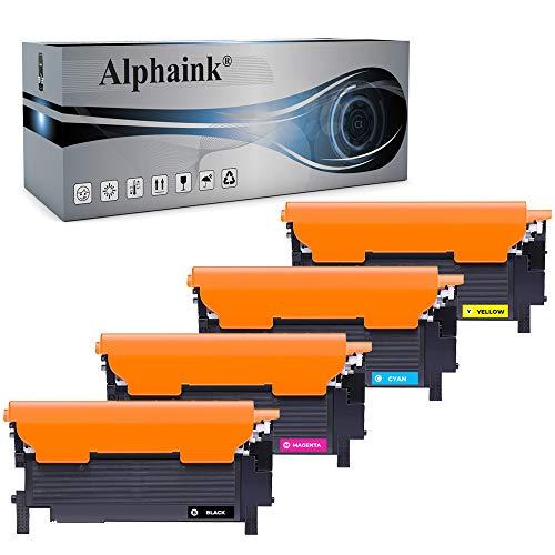 4 Toner Alphaink Compatibili SENZA CHIP con HP 117A W2070A per HP W2071A W2072A W2073A Toner per HP MFP 178nw 179fnw 150nw 150a Toner HP Color Laser 150a 150nw MFP 178nw MFP 179fnw