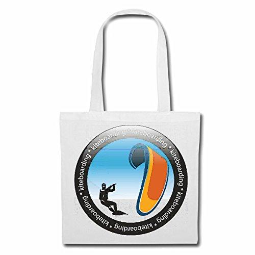 sac à bandoulière Kiteboarding Lifestyle KITE Fashion STREETWEAR HIPHOP SALSA LEGENDARY Sac Turnbeutel scolaire en blanc