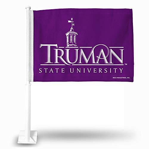 NCAA Rico Industries Car Flag including Pole, Truman State Bulldogs