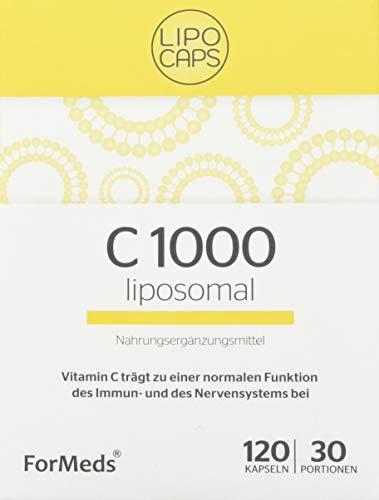 Formeds LIPOCAPS C 1000 Liposomal Vitamin C - 1000 mg, 120 Kapseln / 30 Portionen