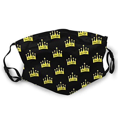 YYTT8 Gesichtsschutz Mundschutz Queen RBF Socken Staubdichter Sonnenschutz Kopfschmuck mit austauschbaren Filtern