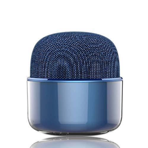 Mini Altavoz, Altavoces De Bluetooth con El Mini Portátil para El Acampar De Los Partidos De Las Playas del Viaje del Partido,Azul
