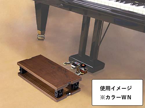 『ピアノ補助ペダル アシスト4点セット 黒色 HS-V(ペダル)+ASS-V BK(足台)+AS-CB(バッグ) 身長130cm以上対象』のトップ画像