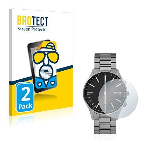 BROTECT 2X Entspiegelungs-Schutzfolie kompatibel mit Skagen Hybrid Smartwatch Holst Bildschirmschutz-Folie Matt, Anti-Reflex, Anti-Fingerprint