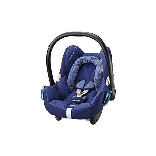 Bébé Confort Cosi Cabriofix, Siège auto Bébé Groupe 0+ , Dos à la route, Naissance à 12 mois (0 à 13 kg), River Blue (bleu)