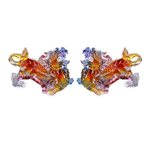 KGDC Escultura Ornamentos Artesanía Exquisita Pi Xiu Lucky Feng Shui Pi Xiu Decoración Muebles for el hogar Sala de Estar Decoración Conveniente for Decoración del Escritorio