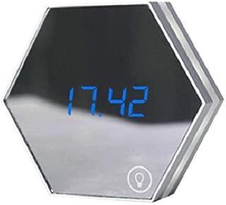 Dandan Multi-Function Mirror Alarm Clock with USB Port Charging - Touch-Sensitive LED Bedside Night Light