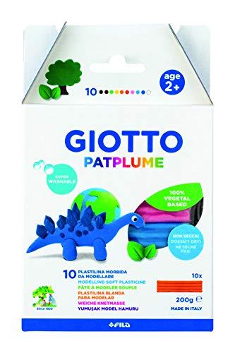 Patplume 512900 - Giotto Patplume 10X20G Panetti Colori Classici