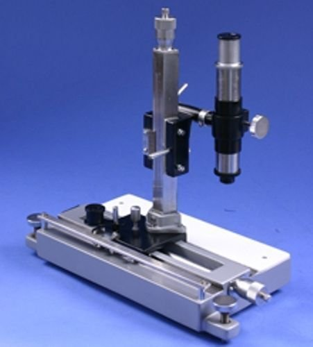 Travelling Microscope Vertical & Horizontal with wooden case