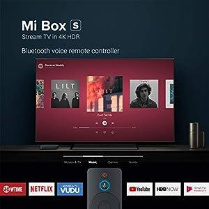 MCorz, Original Xiaomi TV Box S (EU Version) 4K Ultra HD con Dolby Audio, Control Remoto Asistente de Google, Control Remoto por Voz, Hdmi 4K HDR, Reproductor Multimedia de Transmisión