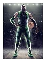ジグソーパズル ジグソーパズル、バスケットボールファンコレクションバスケットボールの殿堂神戸はブラックマンバ-ティーンエイジャーと大人に適したギフト(300/500/1000個) BBJOZ (Color : 1000pieces)