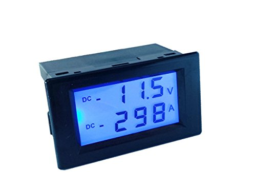 Affordable AILI Battery Monitor Current Voltage Combo Meter DC 200V 50A Forward Reverse Current