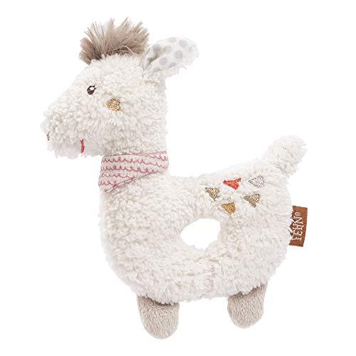 FEHN 058154 - Sonajero con forma de lama y sonajero, compañero fiel para bebés y niños pequeños a partir de 0 meses
