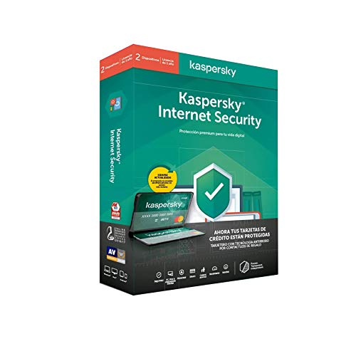 Kaspersky Software ANTIVIRUS 2020 Internet Security MULTIDEVICE 2 LIC + Tarjetero