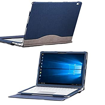 Surface Book 3/2/1 Case Cover 13.5 Inch Detachable Protective Folio Case Cover for 13  Microsoft Surface Book  13.5  Surface Book 3/2/1,Blue