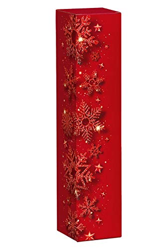 10 pezzi Red Christmas, confezione regalo per bottiglia di vino, confezione regalo di Natale