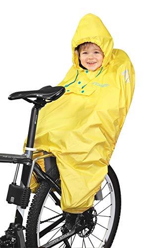 Haven Regen-Poncho für Kinder im Fahrrad Kindersitz gelb /90705