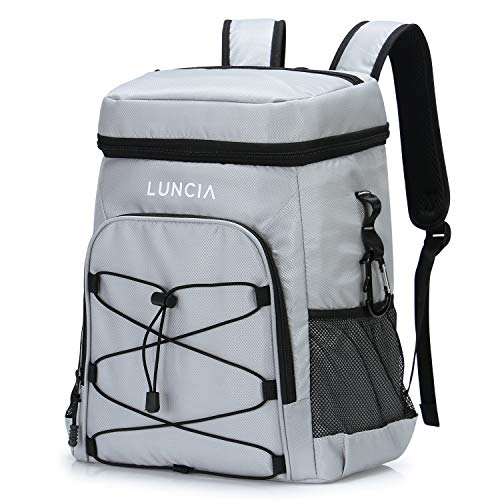 LUNCIA 33can Collapsible Cooler Bag Leakproof Cooler...