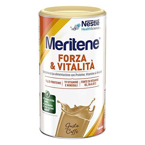 MERITENE FORZA & VITALITA' polvere - GUSTO CAFFE' - Barattolo 270g