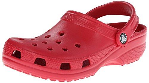 Crocs Classic, Zuecos Unisex Adulto, Pepper, 39/40 EU