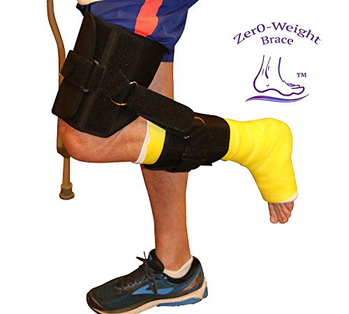 Zero-Weight Brace/Non-Weight Bearing Brace/Achilles Brace/Leg Brace/Post Surgery Brace/Sprained Ankle Brace/No Weight Brace