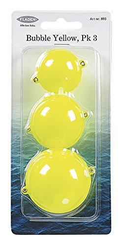 Fladen 3pk Wasserkugeln, Verschiedene Größen Gelb gelb