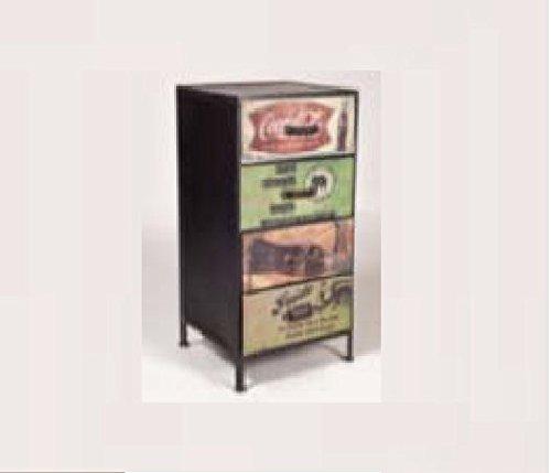 GELUSA Mueble aparador Comoda o Vitrina Consola Vintage Mueble Antiguo