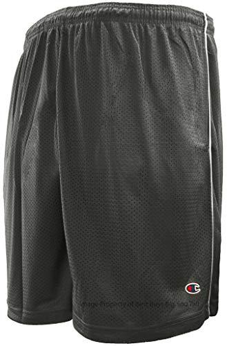 Men's Athletic Mesh Shorts by Champion Gray 3XL #656C