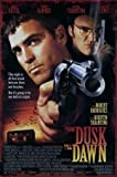 from Dusk Till Dawn - George Clooney – Film Poster Plakat