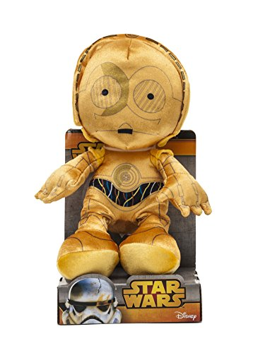 Joy Toy Star Wars 1400619 - C3-Po en Steam Velboa Felpa, 25 cm de displaybox