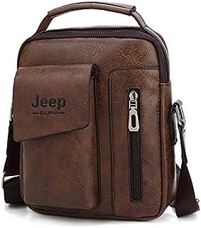 Jeep Bag For Men,Brown - Crossbody Bags