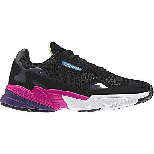 Adidas Falcon W, Zapatos de Escalada para Mujer, Multicolor (Negbás/Negbás/Rossho 000), 40 2/3 EU