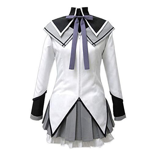 ULLAA Puella Magi Madoka Magica Akemi Homura Traje de Cosplay Traje de Uniforme Escolar Trajes JK Trajes de Halloween Carnaval Ropa