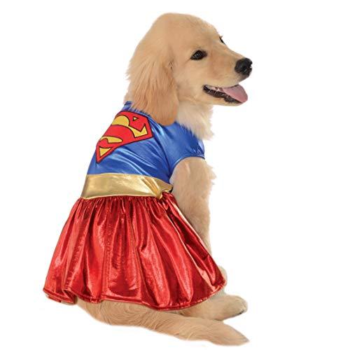 DC Comics Pet Costume, Large, Supergirl