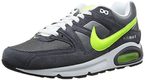 Nike, Air Max Command, Sneaker, Uomo, Grigio (Dark Grey/Volt-Summit White), 44
