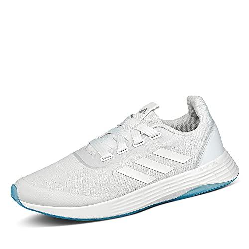 adidas QT Racer Sport, Zapatillas de Running Mujer, FTWBLA/FTWBLA/Gridos, 40 EU