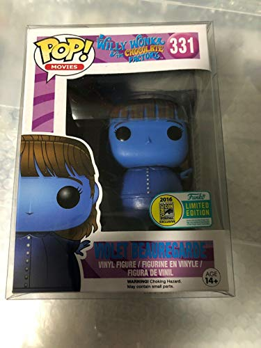 Funko - Figurine Charlie et la Chocolaterie - Blue Violet Exclu Pop 10cm - 0849803095055