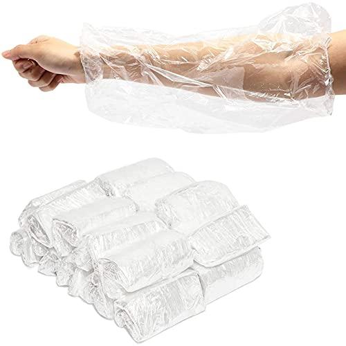 Disposable Arm Sleeves, Waterproof Protector (16 In, 200 Pack)